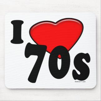 I Love 70s Mousepad