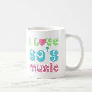 I Love 80s Music Mugs