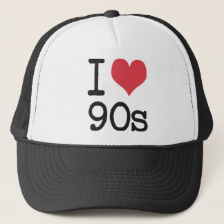 I Love 90s Products & Designs! Trucker Hat