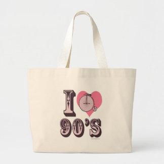 I Love 90s Tote Bag