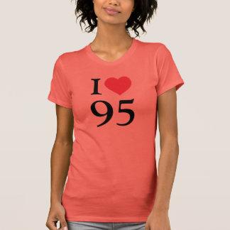 I love 95 t-shirt
