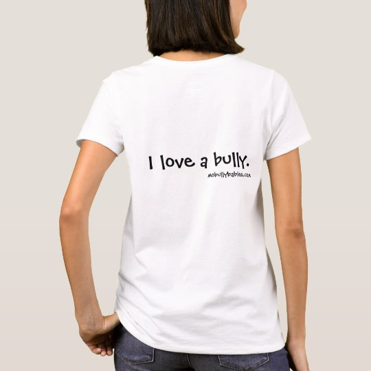I Love a Bully - English Bulldog T-Shirt