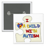 I Love a Child With Autism Pin