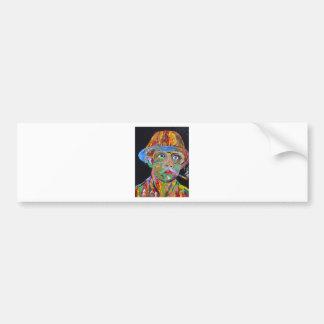 I Love a Colorful Man Car Bumper Sticker