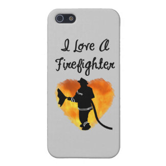 I Love A Firefighter iPhone 5/5S Case