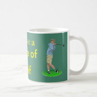 I Love a game of Golf Basic White Mug