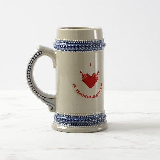 I Love a Homebrewer Coffee Mug
