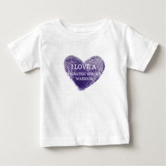 I love a pediatric stroke warrior infant t shirt