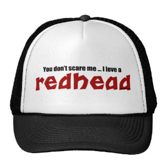 I Love a Redhead Cap