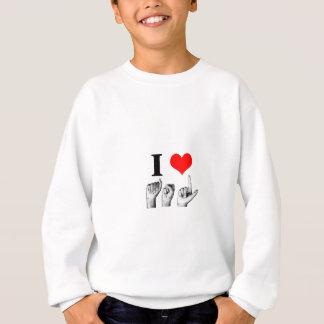 I Love A-S-L (2) T-shirt