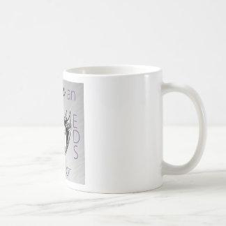 I love a warrior.png basic white mug