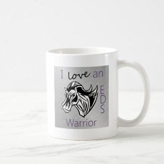 I love a warrior.png classic white coffee mug