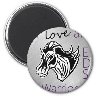 I love a warrior.png magnet