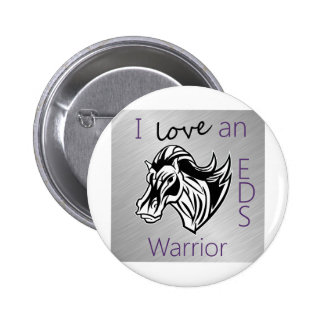 I love a warrior.png pinback buttons