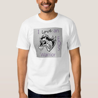 I love a warrior.png t-shirts