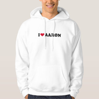 I LOVE AARON PULLOVER
