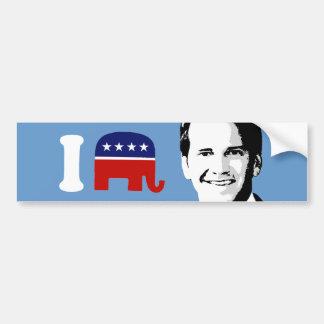 I Love Aaron Schock Bumper Stickers