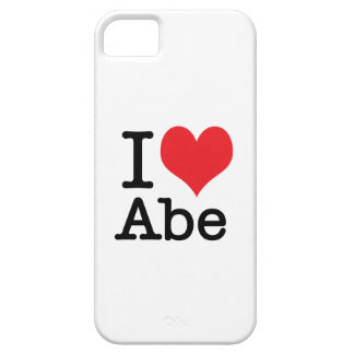 I love Abe - phone cover iPhone 5 Covers