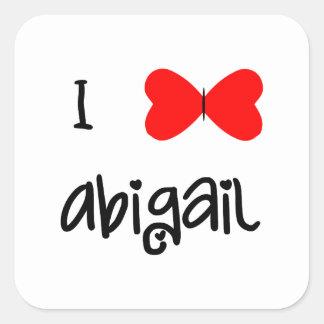 I love Abigail Stickers