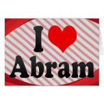I love Abram Cards