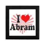 I love Abram Gift Box