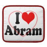 I love Abram iPad Sleeves