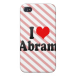 I love Abram iPhone 4 Covers