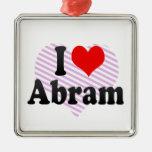 I love Abram Ornament