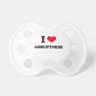 I Love Abruptness BooginHead Pacifier