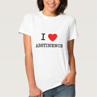 I Love Abstinence Tees