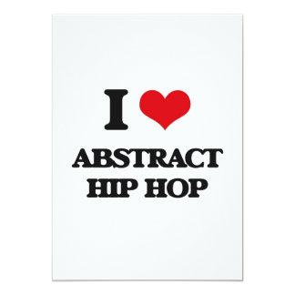 I Love ABSTRACT HIP HOP Custom Announcement