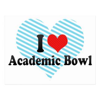 I Love Academic Bowl Postcards