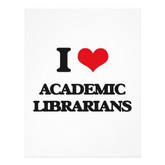 I love Academic Librarians Flyer Design