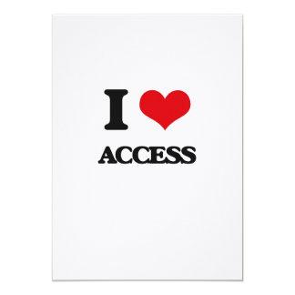 I Love Access Personalized Invites