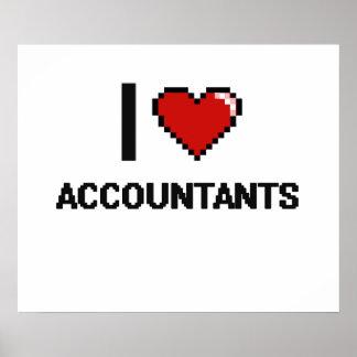 I love Accountants Poster