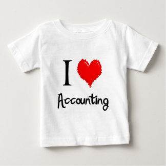 i love accounting baby T-Shirt