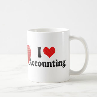 I Love Accounting Coffee Mug