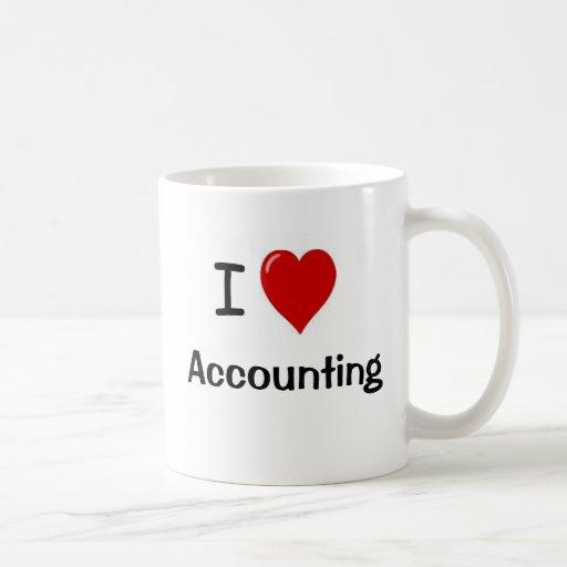 I Love Accounting - I Heart Accounting Coffee Mug