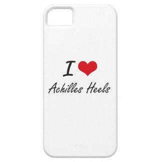 I Love Achilles Heels Artistic Design iPhone 5 Case