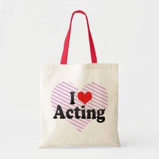 I Love Acting Bag