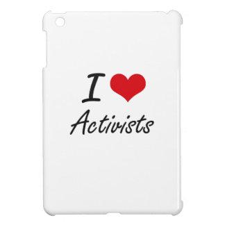 I Love Activists Artistic Design iPad Mini Covers