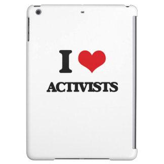 I Love Activists iPad Air Covers