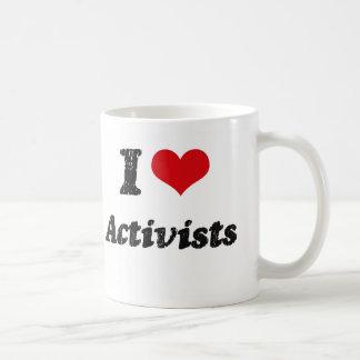 I Love Activists Mug