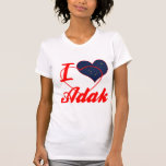 I Love Adak, Alaska Tshirt