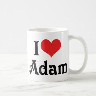 I Love Adam Coffee Mug