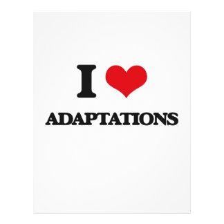 I Love Adaptations 21.5 Cm X 28 Cm Flyer