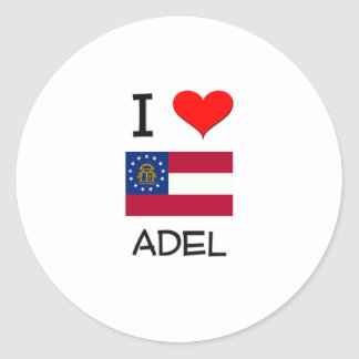 I Love ADEL Georgia Sticker