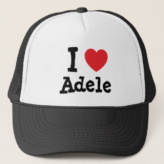 I love Adele heart T-Shirt Trucker Hat