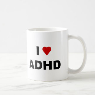 I Love ADHD Coffee Mug