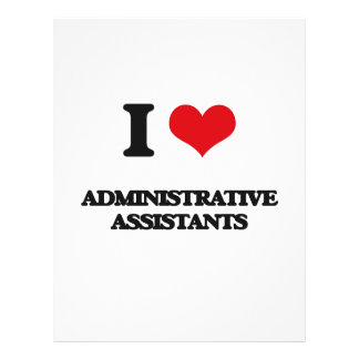 I love Administrative Assistants Flyers